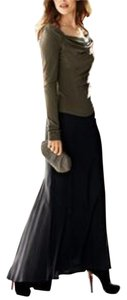 Peruvian Connection Pima 8 Maxi Skirt Black