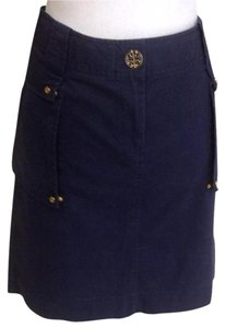 Tory Burch Mini Skirt Blue