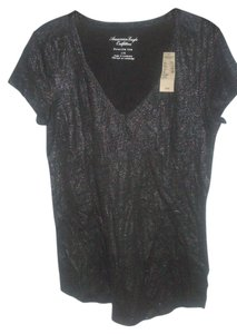 American Eagle Outfitters Top Charcoal