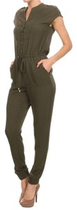 Jumsuit Summer Olive Pants