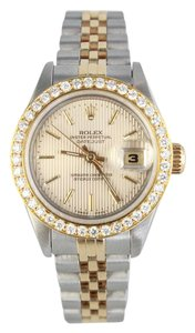 Rolex Oyster Perpetual Two-Tone Watch