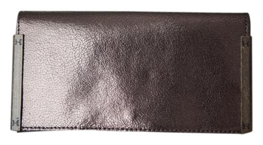 Halston Bronze Clutch