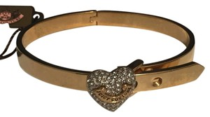 Juicy Couture Pave Heart Bangle Bracelet