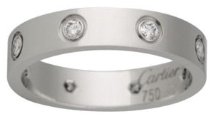 Cartier Cartier 18K White Gold Dimaond Ring B4050600 US 7.5