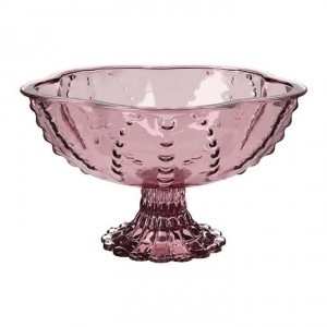Pink Ikea Bowls For Centerpiece