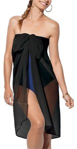 Spanx New with Tags One Size Black Sheer Sarong by SPANX
