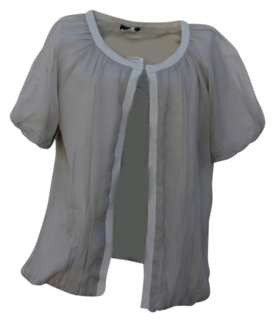 Item - Silk Cover Up New with Tags Paid Light Gray Top