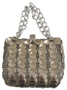 Color mate Satchel in Silver