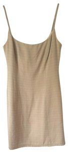 Nanette Lepore short dress Gold Cotton Modern 10 on Tradesy