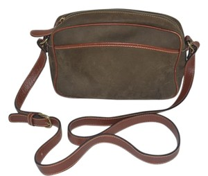 Desmo Suede Leather Cross Body Bag