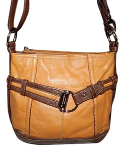 Tignanello Purse Leather Cross Body Bag