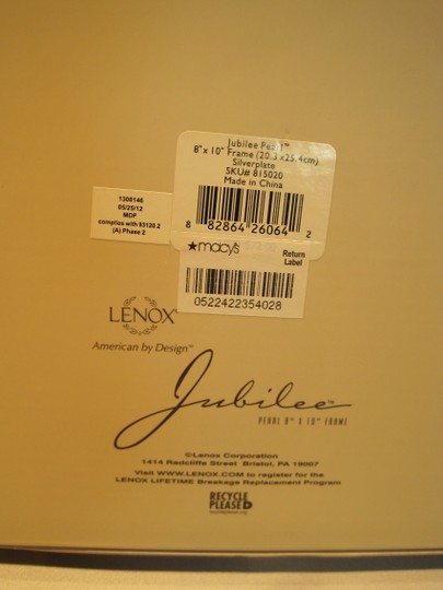 "Other Jubilee Frame (for 8"" x 10"" Images) by LENOX - [ Roxanne Anjou Closet ]"