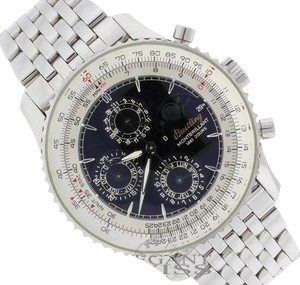 Breitling Breitling Montbrillant 1461 Jours Moonphase Calendar Mens Watch A19030, MINT!!!