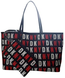 DKNY Handbag Tote in red/black
