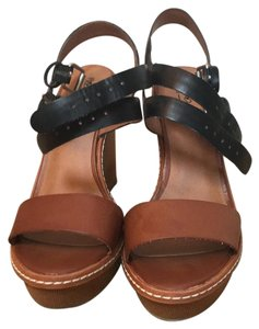 Mossimo Supply Co. Balck and brown Wedges
