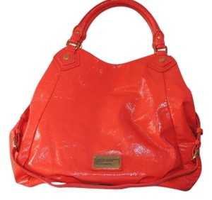Marc Jacobs Tote in orange patent leather