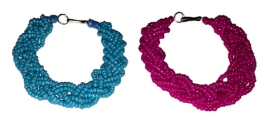 Preload https://img-static.tradesy.com/item/1552417/aqua-and-pink-two-cute-bracelets-in-0-0-540-540.jpg