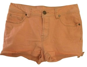 Faded Glory Cuffed Shorts pink, neon