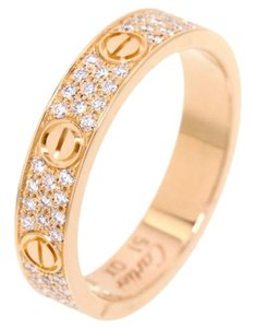 Cartier Cartier 18K Rose Gold Diamond Ring B4085800 US 7.5