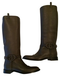 Gucci Brown Designer Size 9 Chocolate Brown Boots