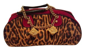 Dior Satchel in LEOPARD PONY
