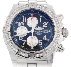 Breitling Breitling Super Avenger Chronograph Watch A13370 w/Diamond Bezel