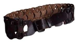 Other Mahogany Leather Belt