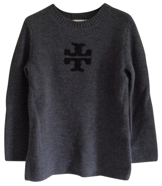 Preload https://item4.tradesy.com/images/tory-burch-charcoal-mel-logo-janelle-sweaterpullover-size-2-xs-1552558-0-0.jpg?width=400&height=650