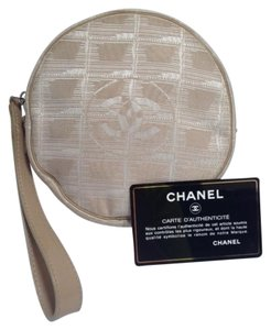 Chanel Wristlet in beige