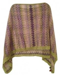 Missoni Missoni purple/green cape