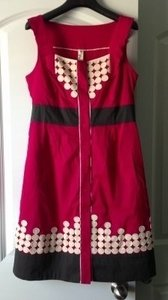 Anthropologie short dress Pink on Tradesy