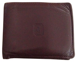 Dior Vintage Dior Brown Leather Wallet