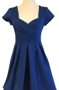 Nanette Lepore short dress Blue on Tradesy