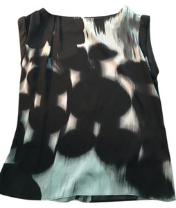 Alice + Olivia Top Black and Grey