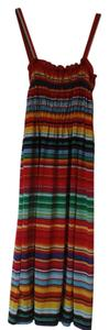 Michael F. short dress Red multi on Tradesy