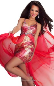 Mac Duggal Couture Prom Hi Lo Dress