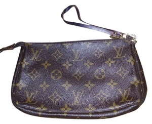 Louis Vuitton Vintage Monogram brown Clutch