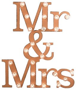 Newlywed Marquee Sign