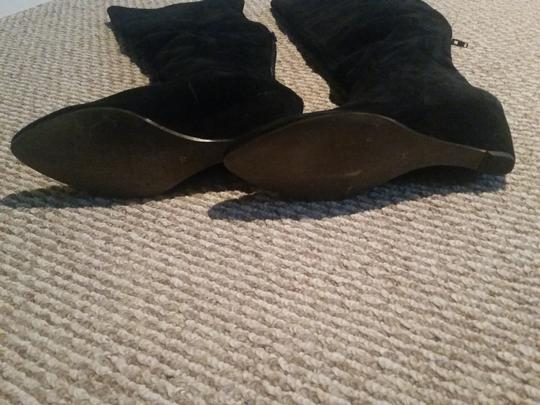 Boutique 9 Otk Thigh High Size 10 Black Suede Boots
