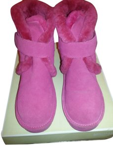Michael Kors lacquer pink Boots