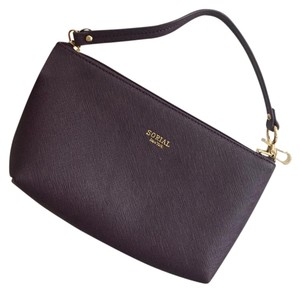 Sorial Wristlet in Eggplant