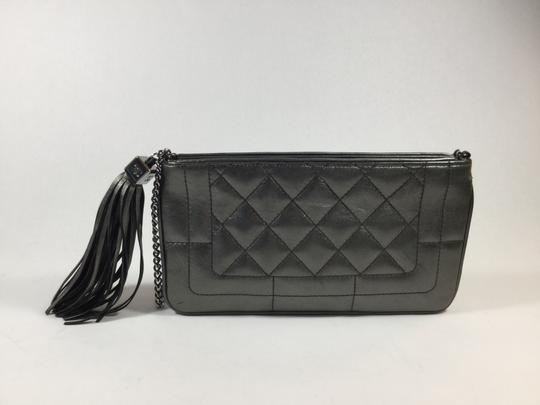 Chanel Quilted Metallic Shoulder Bag