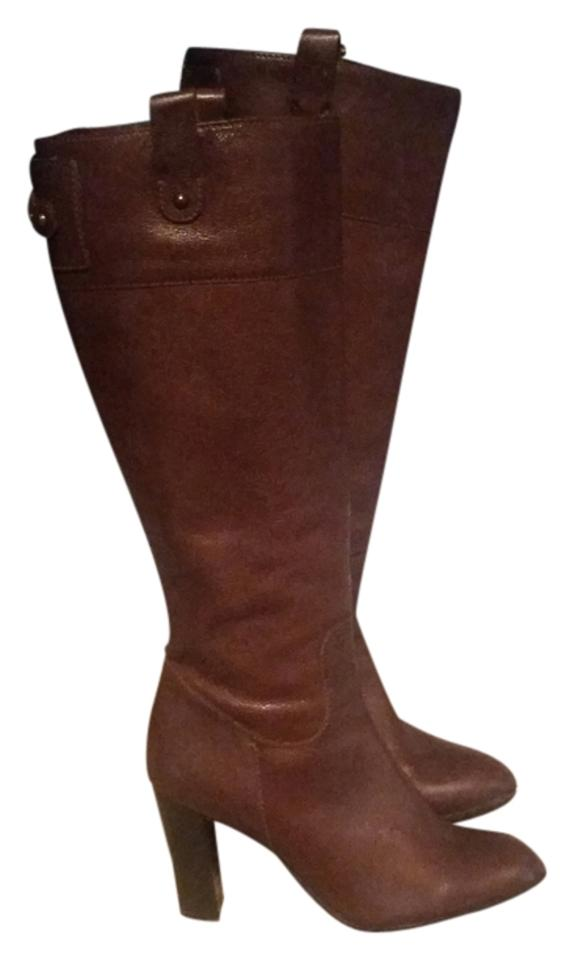 Banana Republic Republic Banana Brown Genuine Leather Boots/Booties bb159b