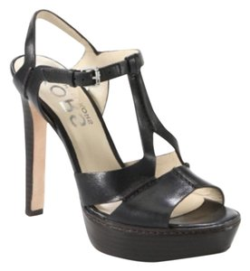 Michael Kors Spring Summer Night Out Leather black Sandals
