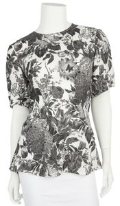Stella McCartney Top Gray & White