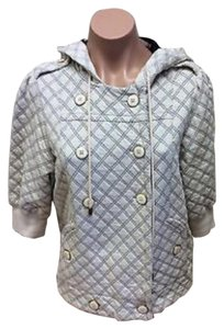 Marc by Marc Jacobs White and Blue Jacket