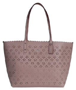 Coach Tote in Grey Birch