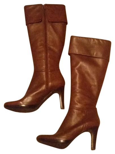 Preload https://item5.tradesy.com/images/enzo-angiolini-cognac-real-leather-bootsbooties-size-us-9-regular-m-b-1553024-0-0.jpg?width=440&height=440