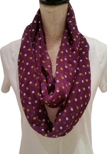Other Purple infinity scarf.