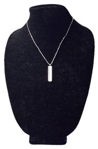 Tiffany & Co. Tiffany & Co. 1837 Sterling Silver Bar Pendant Necklace!!!!